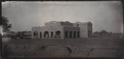 Govt Hospital & Dispensary, Goojranwala. Built by Col Babbage, DC [Deputy Commissioner]